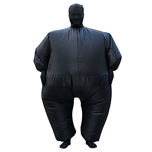 H&ZY Halloween Chub Suit Costume Inflatable Blow Up Chubsuit Bodycon Full Body Jumpsuit
