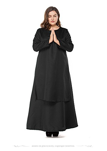 HZY-Womens-Halloween-Black-Medieval-Nun-Robe-Costume-Cosplay-Dress-Cloak-Plus-Size-0-0