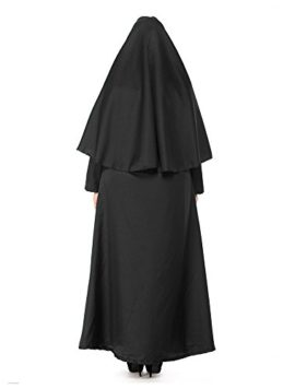 HZY-Womens-Halloween-Black-Medieval-Nun-Robe-Costume-Cosplay-Dress-Cloak-Plus-Size-0-1