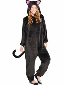 HalloCostume-Adult-Zipster-Black-Cat-One-Piece-Costume-Halloween-Costumes-for-Women-0