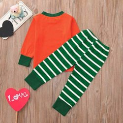 Halloween-Clothes-SetsPumpkin-Long-Sleeve-Cute-Tops-Striped-Pants-Cap-Pajamas-0-0