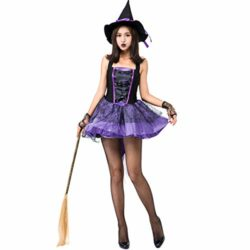 Halloween-Purple-Swallowtail-Witch-Tutu-Sling-Sleeveless-Sexy-Witch-Game-Costume-0-0