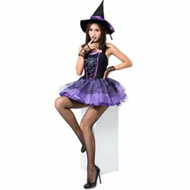 Halloween-Purple-Swallowtail-Witch-Tutu-Sling-Sleeveless-Sexy-Witch-Game-Costume-0-1