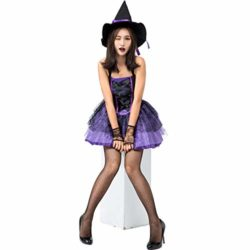 Halloween-Purple-Swallowtail-Witch-Tutu-Sling-Sleeveless-Sexy-Witch-Game-Costume-0-3