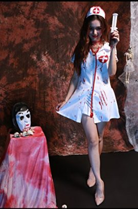 Halloween-Scary-Nurse-Costume-Women-Deluxe-Bloody-Ghost-Vampire-Cosplay-Dress-Up-0-0