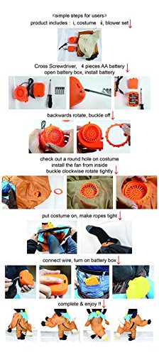 JF Deco Inflatable Costume Halloween Costumes for Adult Men Women