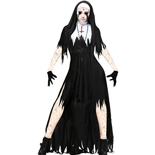Harry Shops Halloween Holiday The Nun Cosplay Costume