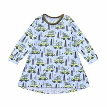 Hatoys-Dress-Toddler-Baby-Girls-Cartoon-Forest-Trees-Cars-Print-Dress-Outfits-Clothing-0