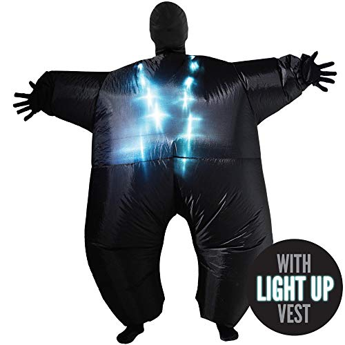 Inflatable Costumes Adult Halloween Fancy Dress Funny Scary Alien Skeleton Sumo