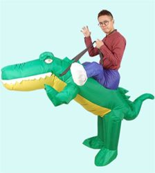 Inflatable-Crocodile-Costume-Unisex-Adults-Halloween-Riding-Animal-Cosplay-Blow-up-Costume-0-0