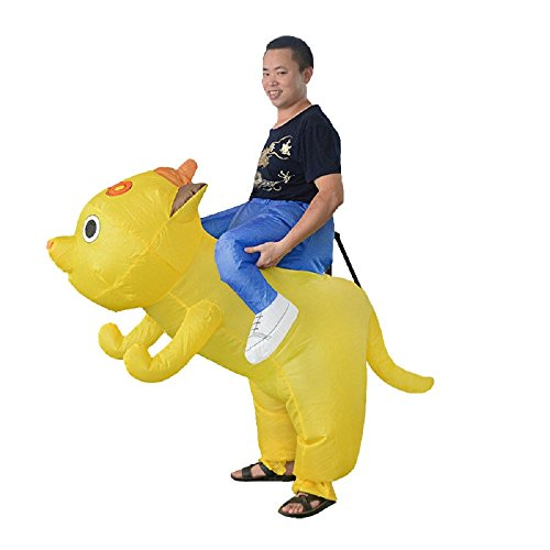 Inflatable-Man-Piggyback-Dog-Animal-Kids-Fancy-Dress-Halloween-Party-Blow-Up-Suit-0-3