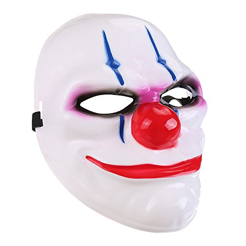 KENANCY Halloween Mask Clown Funny Cosplay Costume Mask Props Horror Party Dec. Props