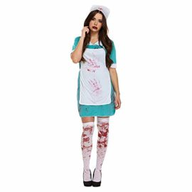 LADIES-ZOMBIE-NURSE-BLOODY-HALLOWEEN-FANCY-DRESS-COSTUME-OUTFIT-THE-WALKING-DEAD-SCRUBS-CHEAP-00337-by-Henbrandt-0