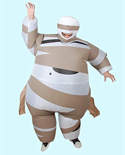 LOLANTA-Adult-Kids-Halloween-Inflatable-Mummy-Costume-Blow-Up-Fancy-Dress-0-0