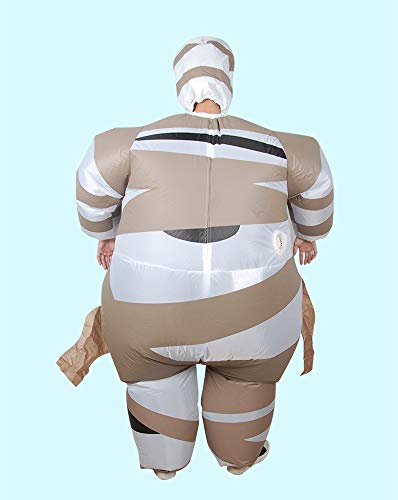LOLANTA-Adult-Kids-Halloween-Inflatable-Mummy-Costume-Blow-Up-Fancy-Dress-0-1
