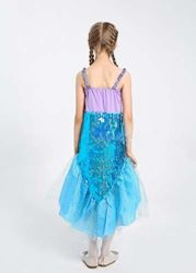 LOLANTA-Little-Girls-Halloween-Mermaid-Costume-Princess-Sequins-Dress-with-Tail-0-0