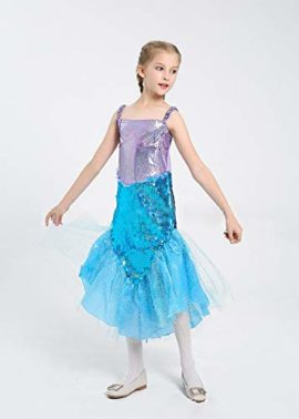 LOLANTA-Little-Girls-Halloween-Mermaid-Costume-Princess-Sequins-Dress-with-Tail-0-1