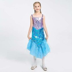 LOLANTA-Little-Girls-Halloween-Mermaid-Costume-Princess-Sequins-Dress-with-Tail-0-5