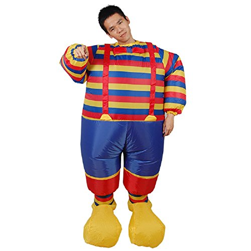 LOLANTA-Mens-Clown-Inflatable-Halloween-Costume-Clown-Blow-up-Outfit-0