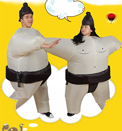 LOLANTA-Unisex-Adults-Sumo-Inflatable-Costume-Halloween-Wrestler-Blow-up-Fancy-Dress-0-0