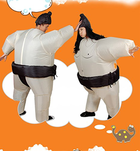 LOLANTA-Unisex-Adults-Sumo-Inflatable-Costume-Halloween-Wrestler-Blow-up-Fancy-Dress-0-1