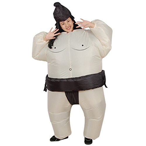 LOLANTA-Unisex-Adults-Sumo-Inflatable-Costume-Halloween-Wrestler-Blow-up-Fancy-Dress-0