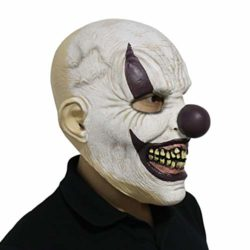 LarpGears-Novelty-Halloween-Costume-Party-Evil-Ghost-Funny-Clown-Mask-for-Adults-0-1