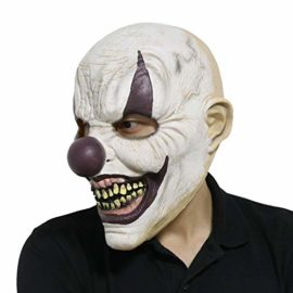 LarpGears-Novelty-Halloween-Costume-Party-Evil-Ghost-Funny-Clown-Mask-for-Adults-0