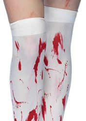 Leg-Avenue-Womens-Bloody-Zombie-Thigh-High-Hosiery-0-0