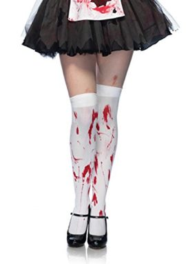 Leg-Avenue-Womens-Bloody-Zombie-Thigh-High-Hosiery-0