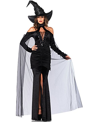 Leg Avenues Womens Sultry Sorceress Costume
