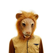 Lion-Mask-Latex-Realistic-Funny-Halloween-Animal-Costume-Cosplay-Headgear-0