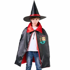 Liu-Chao-PurrMaid-Mermaid-Lover-Cute-Kids-Halloween-Wizard-Witch-Cloak-Cape-Hat-0