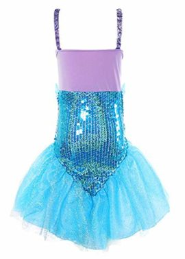 MOREMOO-Little-Girl-Sequins-Princess-Mermaid-Costume-Dress-with-Tail-0-0