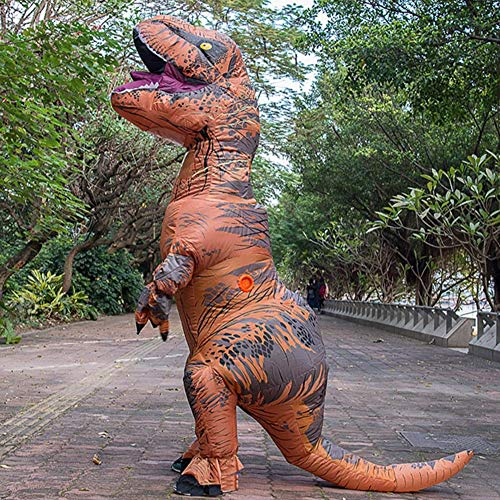 MORYSONG-Inflatable-Dinosaur-Costume-T-Rex-Outfit-Halloween-Blow-up-Fancy-Dress-0-0
