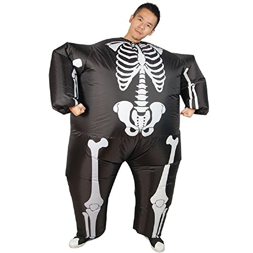Mens-Halloween-Skeleton-Inflatable-Costume-Novelty-Funny-Blow-up-Outfit-0-0