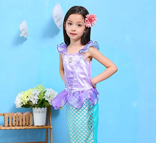 Mermaid-Costumes-for-Girl-Child-Kids-Halloween-Outfit-Pretty-Cosplay-Set-0-1