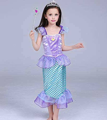Mermaid-Costumes-for-Girl-Child-Kids-Halloween-Outfit-Pretty-Cosplay-Set-0-5