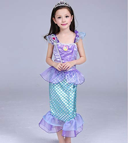 Mermaid-Costumes-for-Girl-Child-Kids-Halloween-Outfit-Pretty-Cosplay-Set-0-6