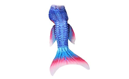 Mermaid-Tail-Swimmable-Costume-Blue-Kid-110-0