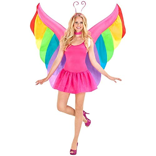 Mocona Adult Angel Butterfly Wings Inflatable Costume