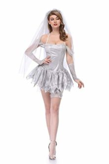 Moon-Market-Women-Zombie-Ghost-Dead-Bride-Halloween-Costume-Bridal-Mini-Skirt-Outfit-0