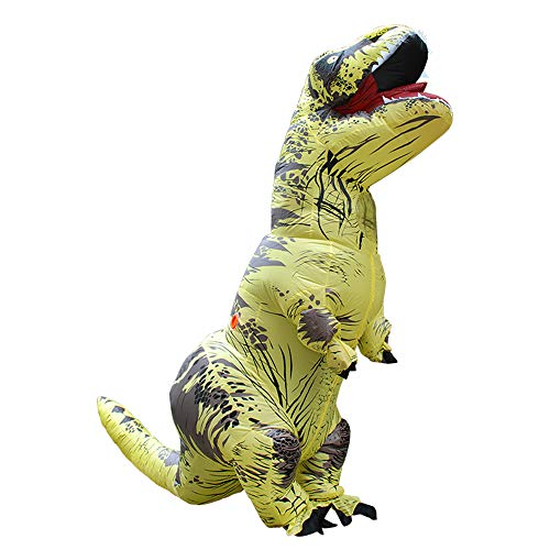 MoreToys-Inflatable-Dinosaur-Trex-Halloween-Costume-T-Rex-Dino-Suit-Fancy-Dress-for-Adults-Yellow-0