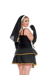 Music-Legs-Womens-Plus-Size-Flirty-Nun-0-0
