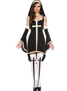 Music-Legs-Womens-Sinfully-Hot-Nun-0