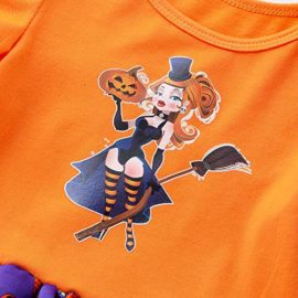 Newborn-Jumpsuit-3M-18M-Baby-Short-Sleeve-Halloween-Pumpkin-Bow-Party-Romper-Dress-0-2