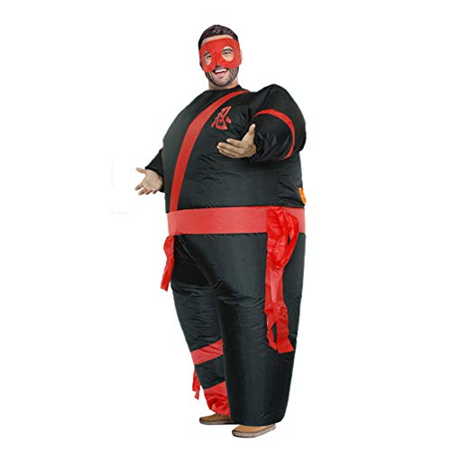 Ninja-Inflatable-Giant-Costume-Halloween-Carnival-Cosplay-Toy-Family-Trick-Party-Funny-Prop-0