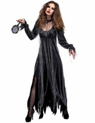 NonEcho-Women-Scary-Zombie-Bloody-Mary-Costume-Halloween-Horror-Ghost-Bride-Dress-0