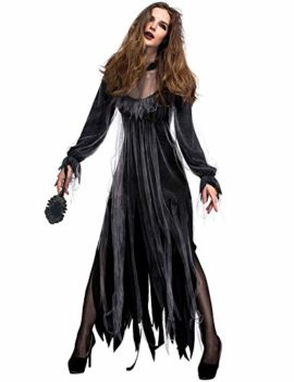 NonEcho-Women-Scary-Zombie-Bloody-Mary-Costume-Halloween-Horror-Ghost-Bride-Dress-0-2