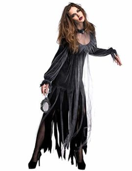 NonEcho-Women-Scary-Zombie-Bloody-Mary-Costume-Halloween-Horror-Ghost-Bride-Dress-0-3